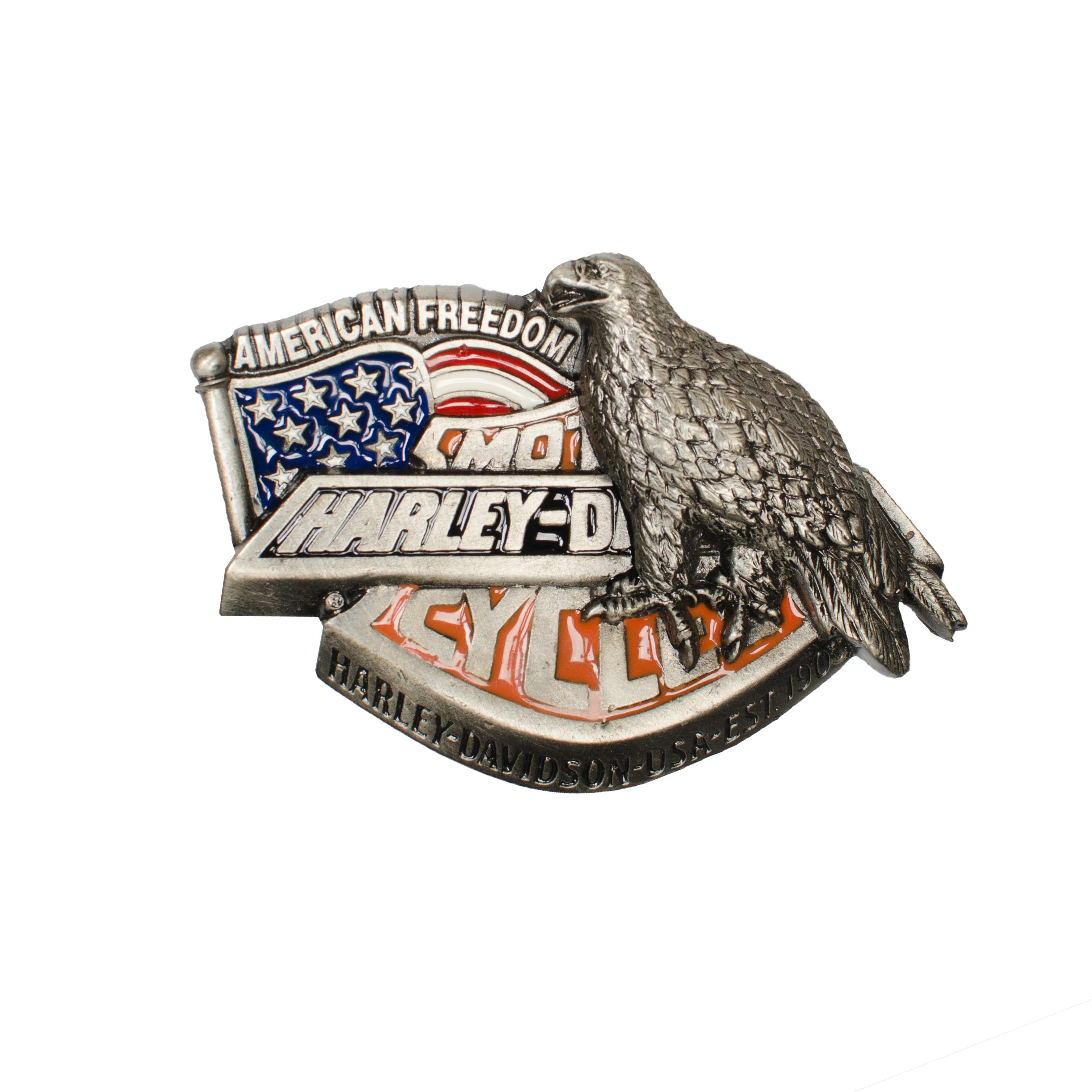 Harley Davidson American Freedom Belt Buckle H422