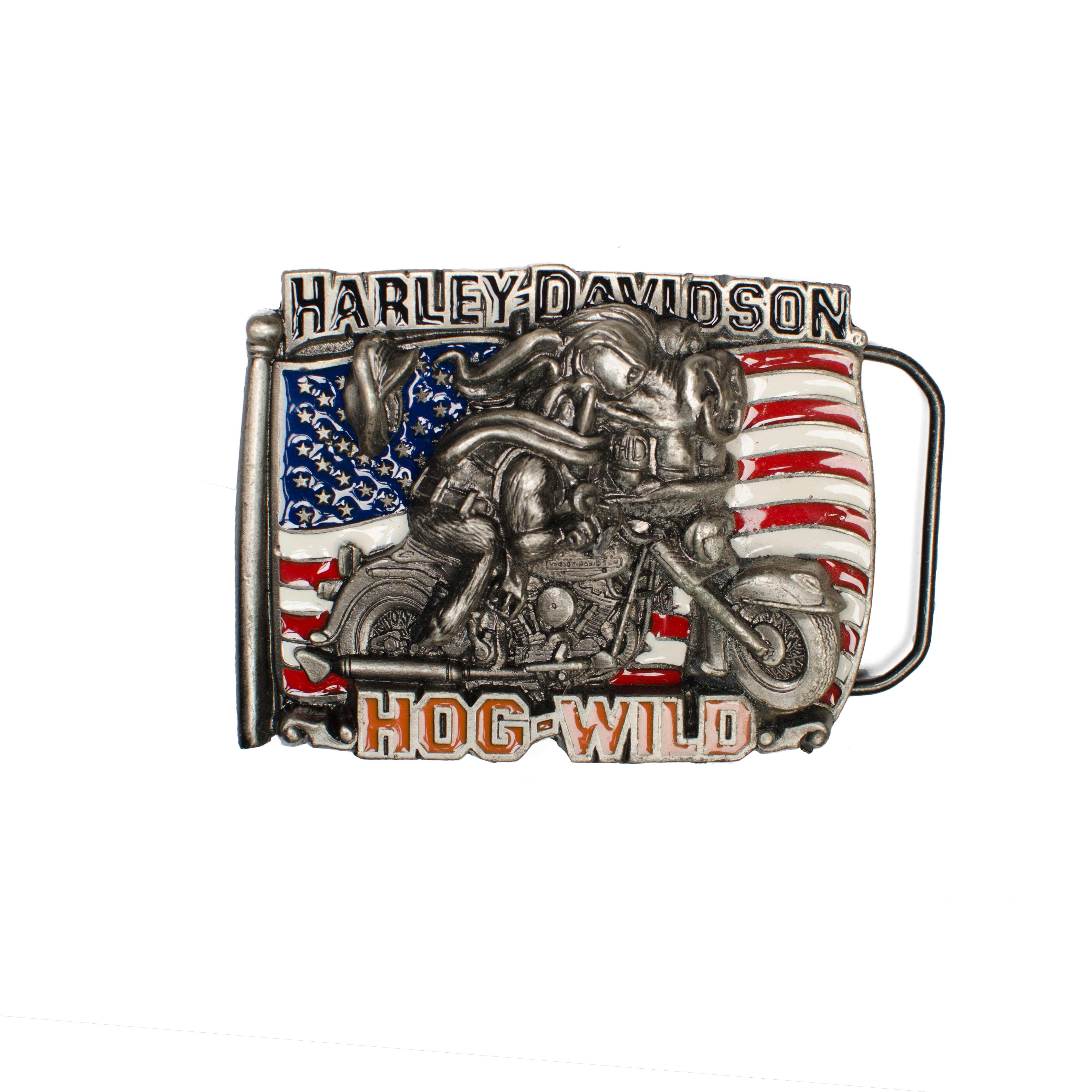 Harley Davidson Hog Wild Buckle H426