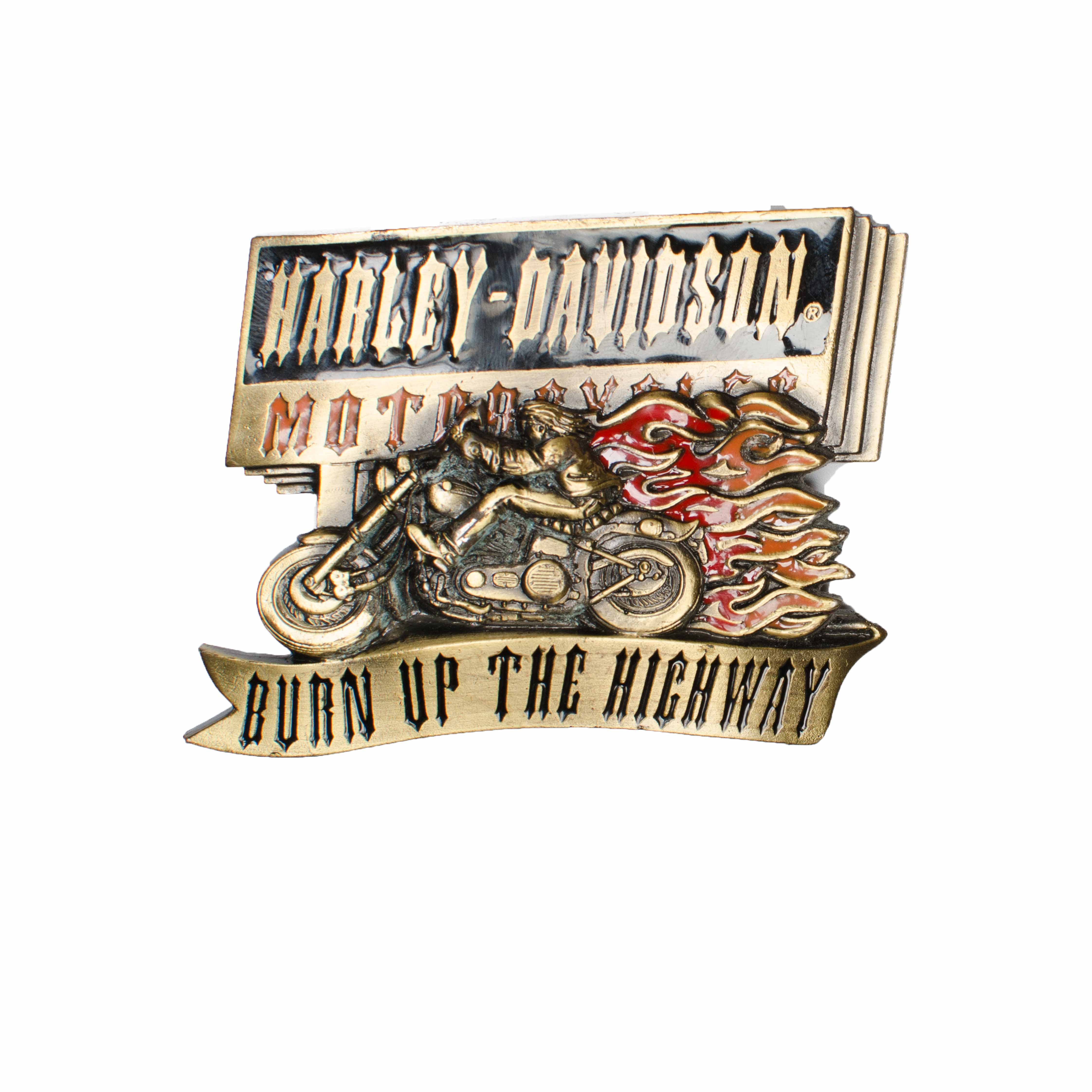 Harley Davidson Burn Up The Highway H429