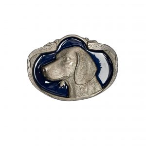 dog buckle blue